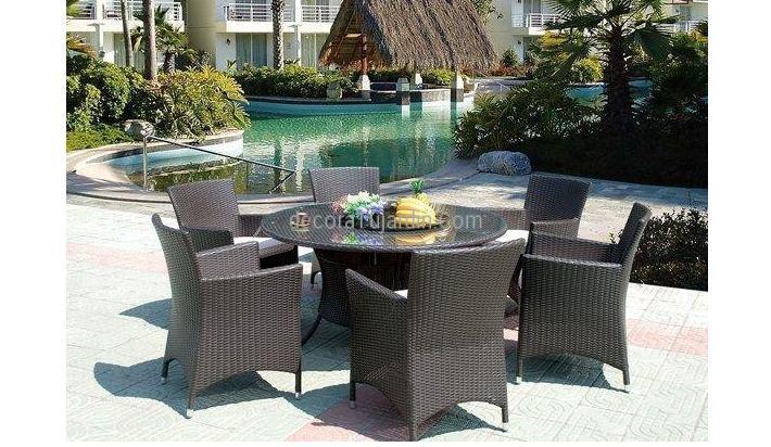 Muebles de jard n terraza mobiliario directo de f brica for Mobiliario jardin rattan