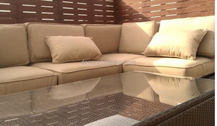 Sof modular jard n muebles de exterior modulares for Sofa modular jardin