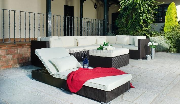 Muebles de jard n terraza mobiliario directo de f brica for Fundas muebles terraza