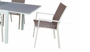 silla comedor exterior