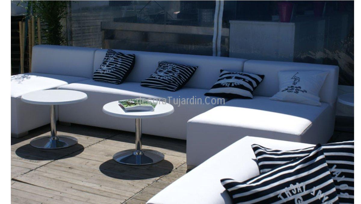 Muebles de jard n tapiceria n utica simple line for Muebles de terraza baratos tenerife
