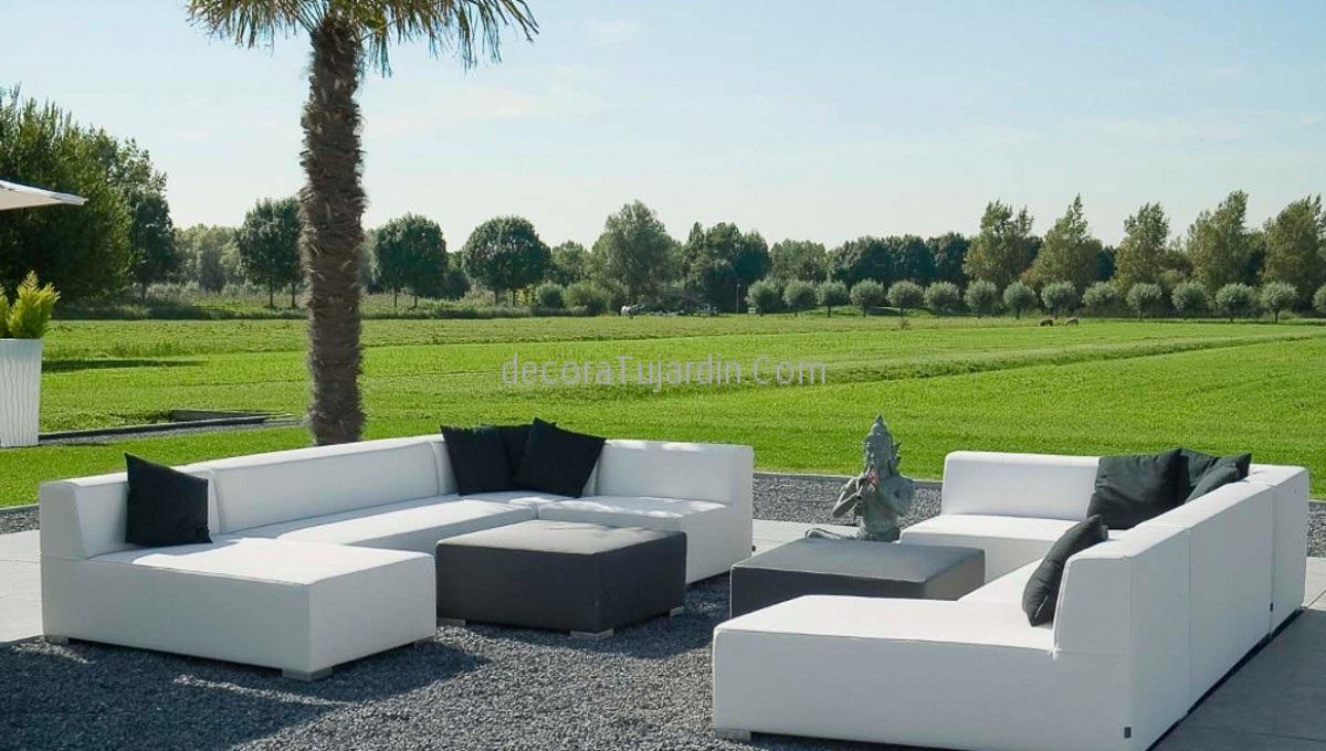 Muebles de jard n tapiceria n utica simple line for Muebles de jardin de resina