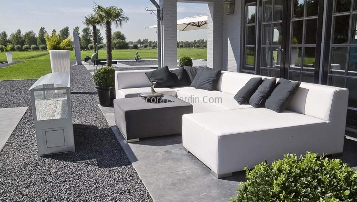 Muebles de jard n tapiceria n utica simple line for Sofa tela nautica