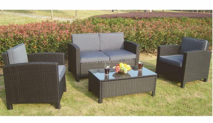 Set de terraza completo sarai for Muebles para jardin exterior