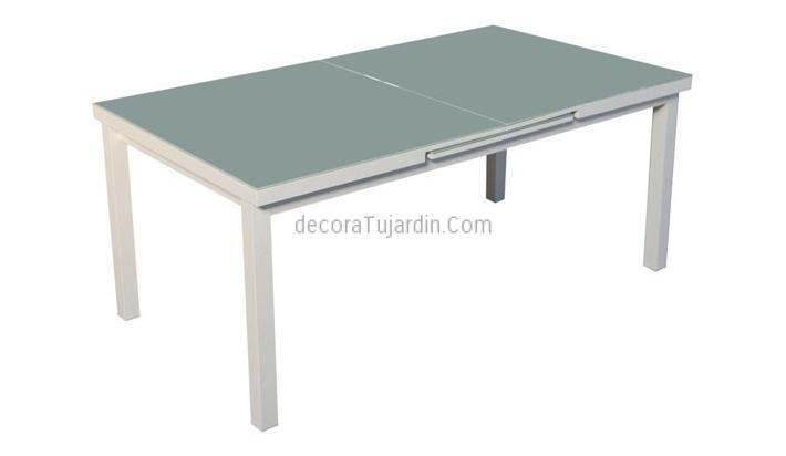 Comedor de jard n mesa ampliable 170 220 x 100 x 74 cm for Mesa comedor ampliable