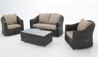 conjunto sillones y sofas jardin