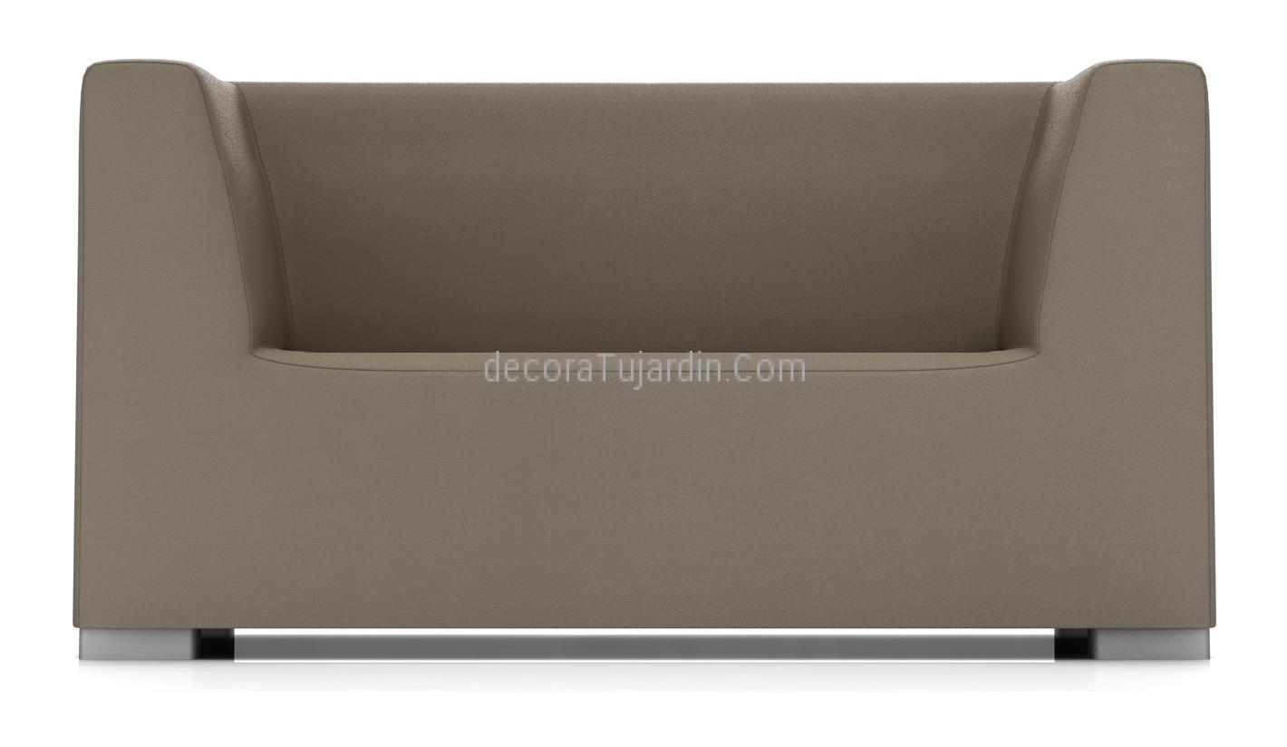 sofa 2 plazas impermeable